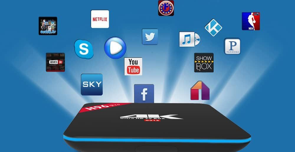 h96 box android tv