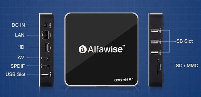 caractéristiques alfawise 8.1