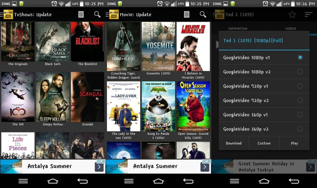 movieHd andoird app