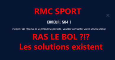 problemes rmc sport