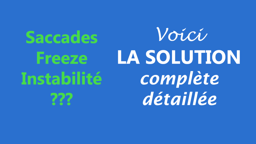 Abonnement IPTV qui saccade / freeze / saute  Voici LA SOLUTION