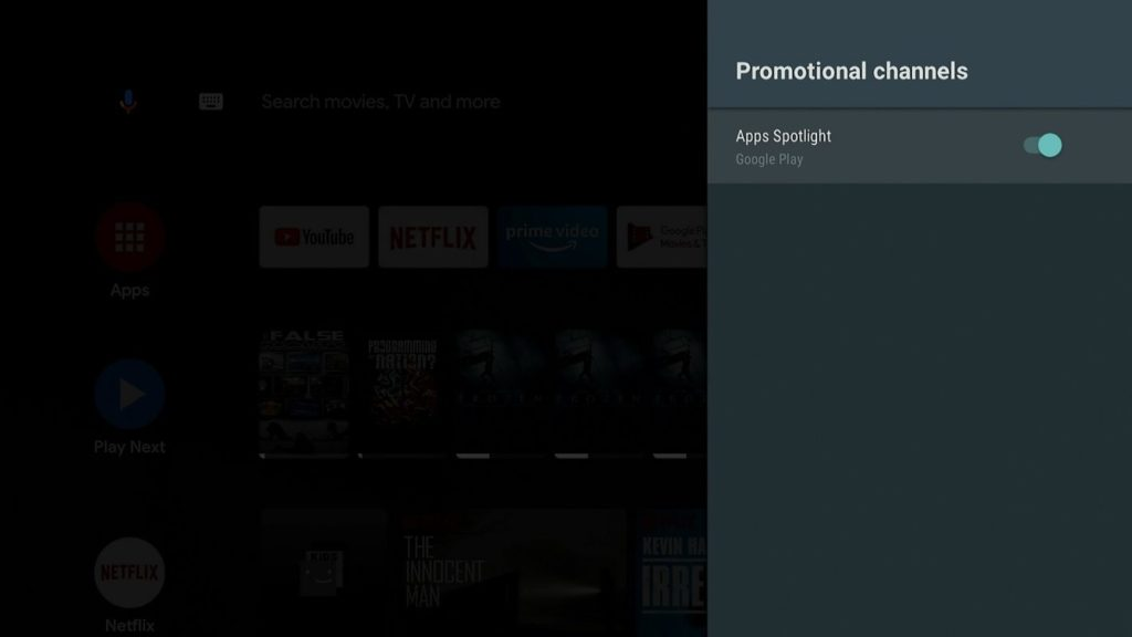 android tv app spotlight