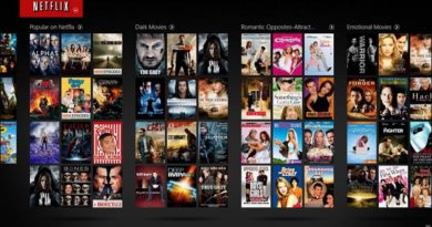 Catalogue Netflix USA