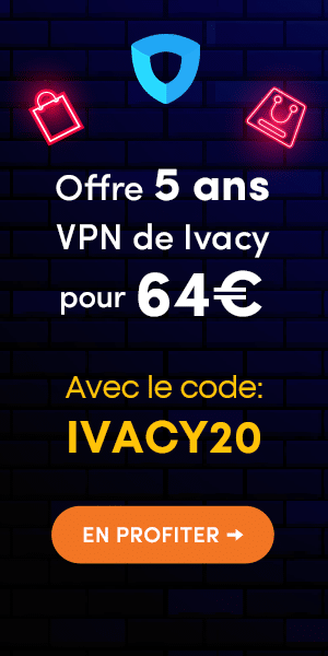 code promo ivacy vpn