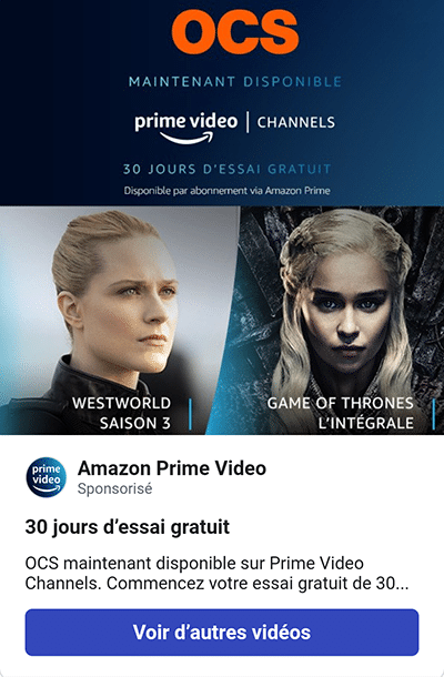 promo amazon prime video