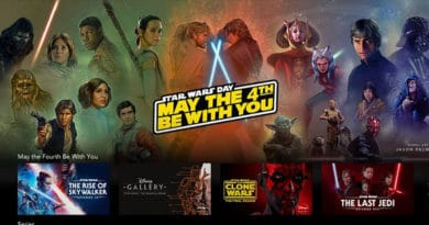 integrale star wars sur Disney+