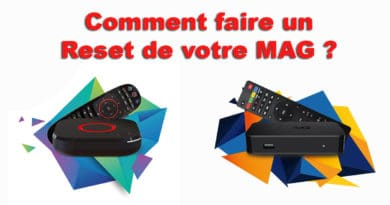 Comment faire reset MAG ?